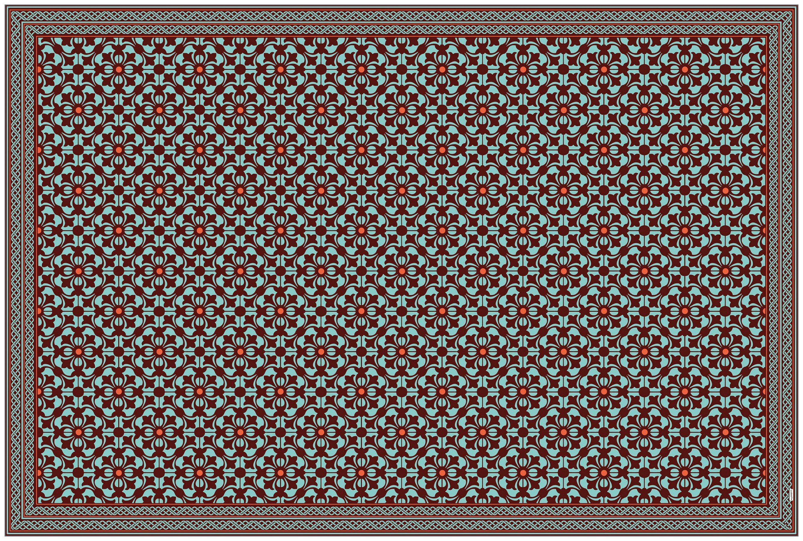 MYSPOTTI Vinylteppich »mySPOTTI buddy Julia«, 203 x 136 cm, statisch haftend