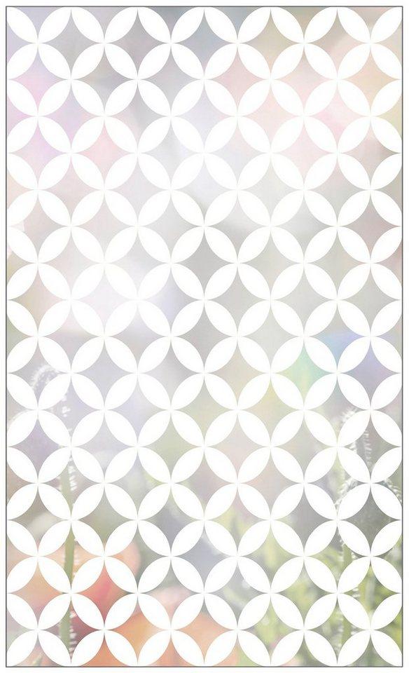 myspotti fensterfolie myspotti look chadi white 60 x 100 cm statisch haftend online kaufen. Black Bedroom Furniture Sets. Home Design Ideas
