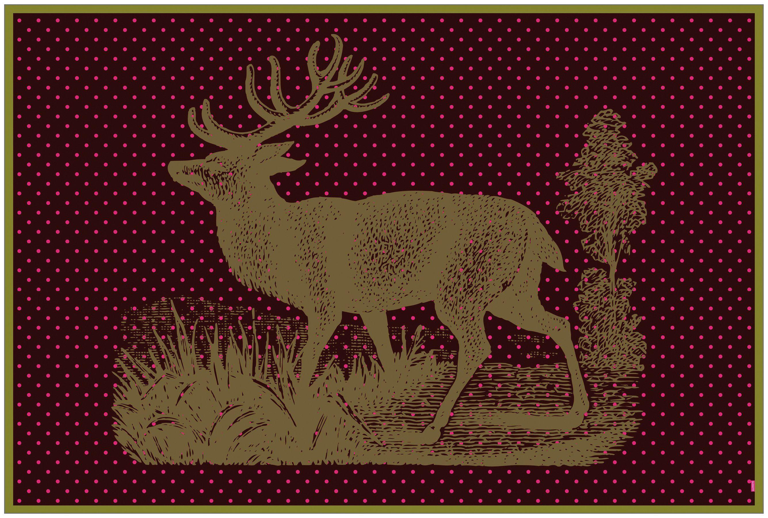 MYSPOTTI Vinylteppich »mySPOTTI buddy Maggie«, 203 x 136 cm, statisch haftend