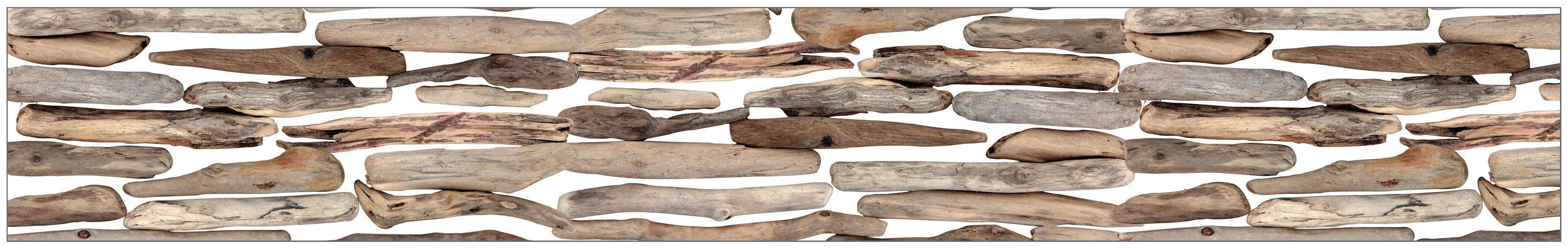 MYSPOTTI Fensterfolie »mySPOTTI look Driftwood«, 200 x 30 cm, statisch haftend