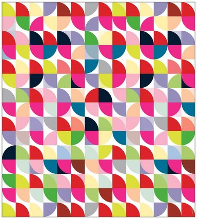 MYSPOTTI Fensterfolie »mySPOTTI look Retro Pattern«, 90 x 100 cm, statisch haftend