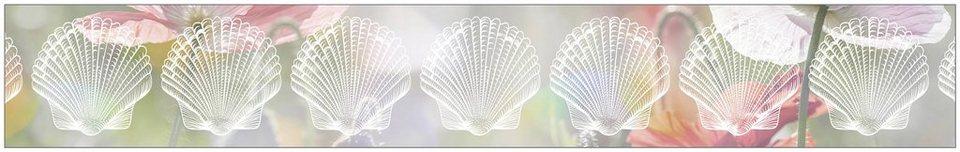 myspotti fensterfolie myspotti look shells white 200 x 30 cm statisch haftend online kaufen. Black Bedroom Furniture Sets. Home Design Ideas