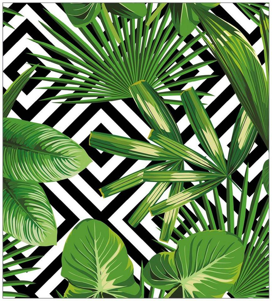 myspotti fensterfolie myspotti look leaves 39 n 39 cevron 90 x 100 cm statisch haftend online. Black Bedroom Furniture Sets. Home Design Ideas