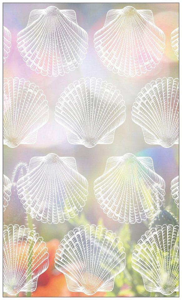myspotti fensterfolie myspotti look shells white 60 x 100 cm statisch haftend online kaufen. Black Bedroom Furniture Sets. Home Design Ideas
