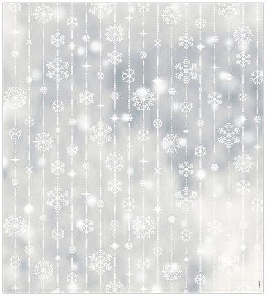 MYSPOTTI Fensterfolie »mySPOTTI look Schneeflocken white«, 90 x 100 cm, statisch haftend
