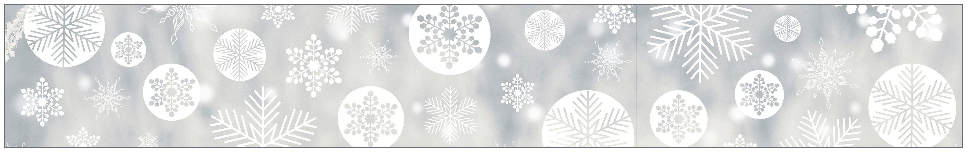 MYSPOTTI Fensterfolie »mySPOTTI look Snowy white«, 200 x 30 cm, statisch haftend