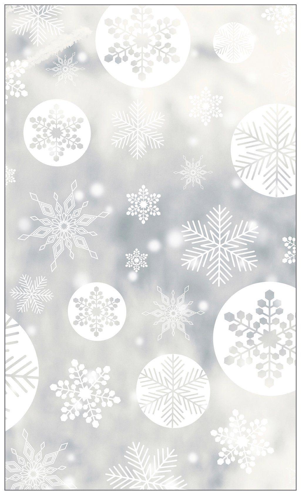 MYSPOTTI Fensterfolie »mySPOTTI look Snowy white«, 60 x 100 cm, statisch haftend