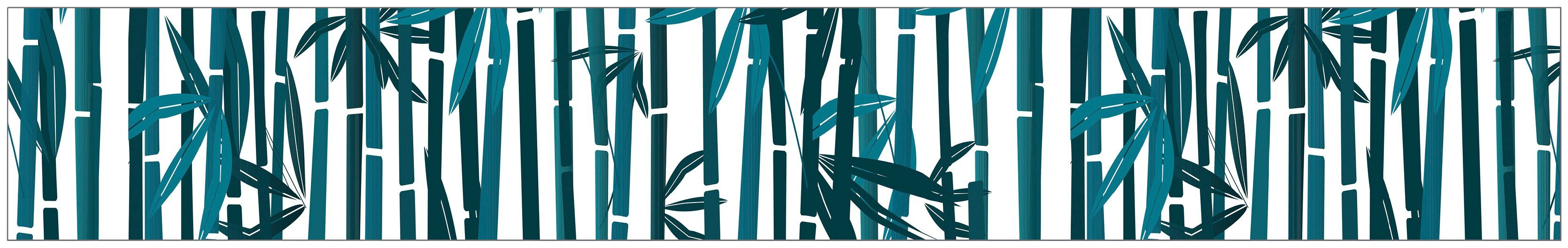MYSPOTTI Fensterfolie »mySPOTTI look Bamboo«, 200 x 30 cm, statisch haftend