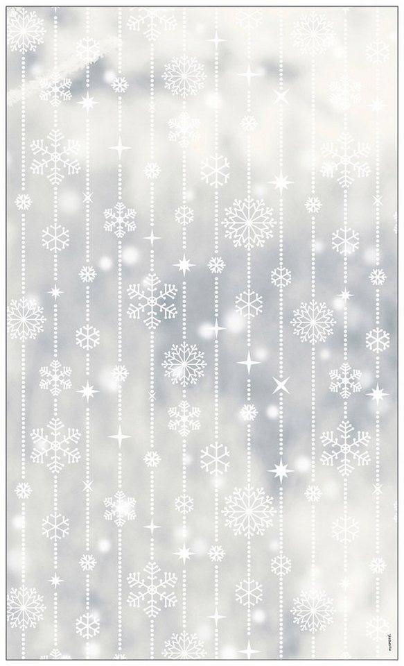 myspotti fensterfolie myspotti look schneeflocken white 60 x 100 cm statisch haftend online. Black Bedroom Furniture Sets. Home Design Ideas