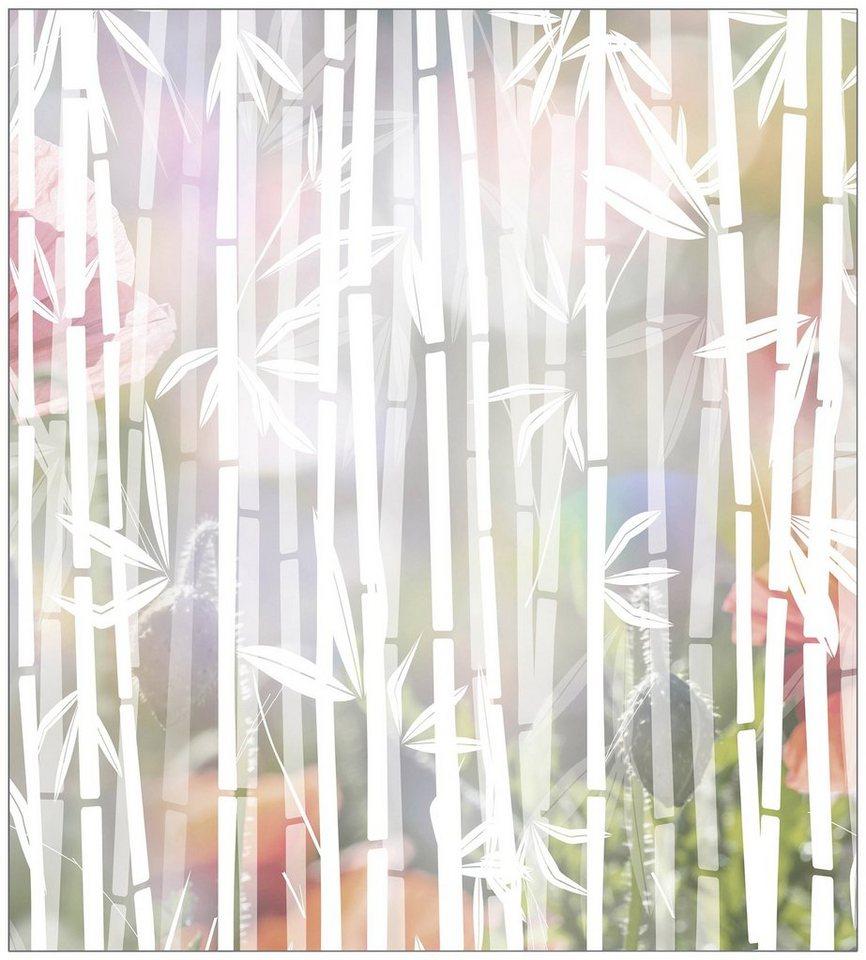 myspotti fensterfolie myspotti look bamboo white 90 x 100 cm statisch haftend online kaufen. Black Bedroom Furniture Sets. Home Design Ideas