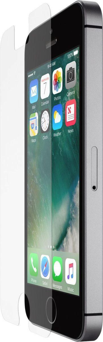 Belkin Glasfolie »ScreenForce InvisiGlass Ultra iPhone SE/5/5s/5c«