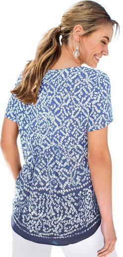 Classic Inspirationen Blusenshirt allover bedruckt