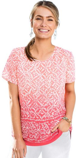 Classic Inspirations Blouses Shirt Allover Printed