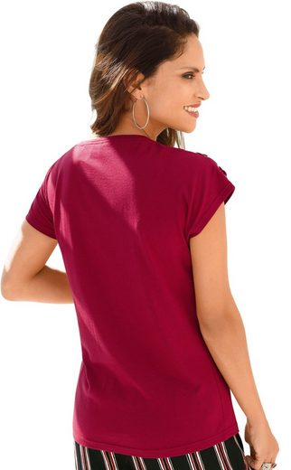 Classic Inspirationen Shirt mit Ösenzier
