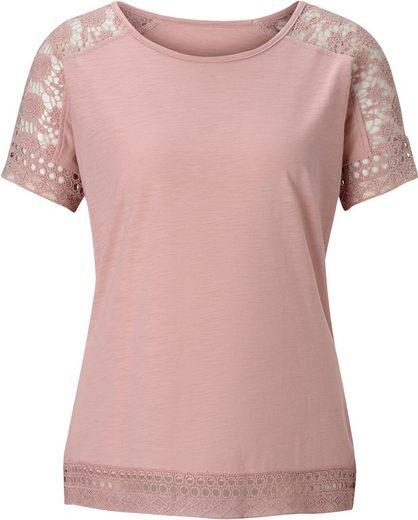 Classic Inspirationen Shirt in Flammgarn-Optik