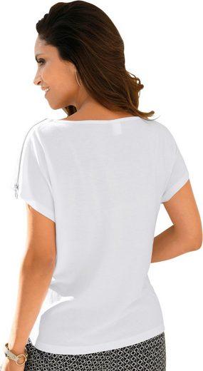 Classic Inspirationen Shirt mit ornamentalem Druck
