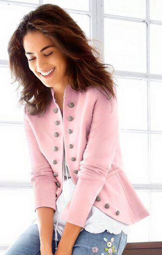 Classic Inspirationen Jersey-Blazer in modisch kurzer Form