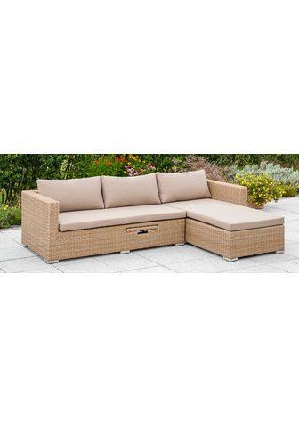 MERXX Sodo sofa »Veneto« Polyrattan Lentyna ...