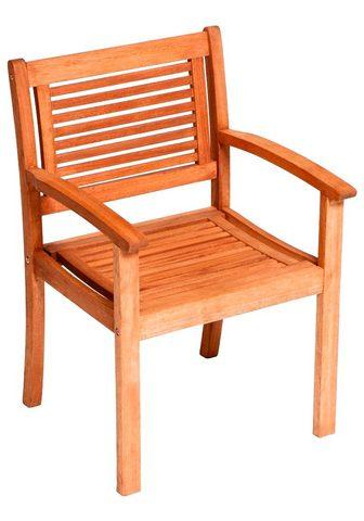 MERXX Poilsio kėdė »Cordoba« Eukalyptus brau...