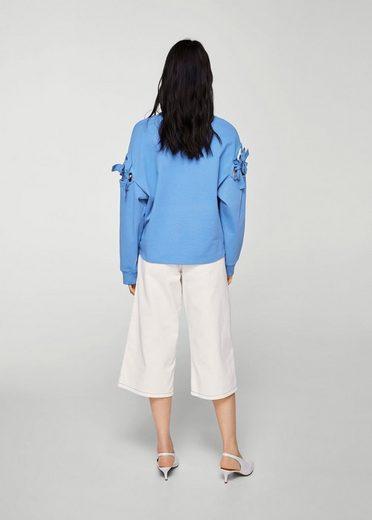 MANGO Sweatshirt mit Schleifendetail