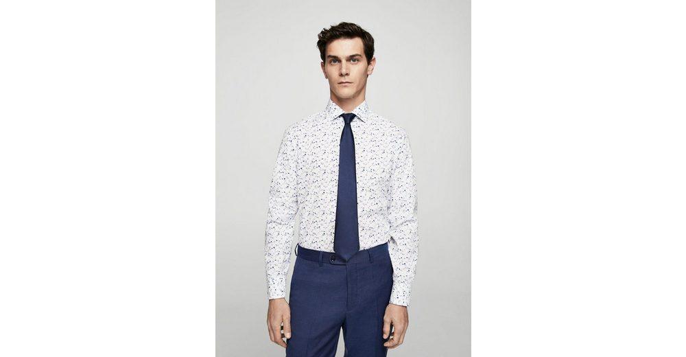 MANGO MAN Regular Fit Tailored Hemd aus Baumwolle Nicekicks Verkauf Online Billige Finish Billige Amazon Verkauf Niedriger Versand Billig Verkauf Sneakernews BlwK5