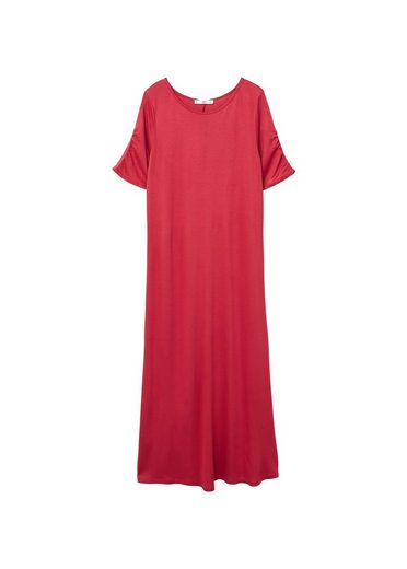MANGO Kleid mit gerafftem Detail