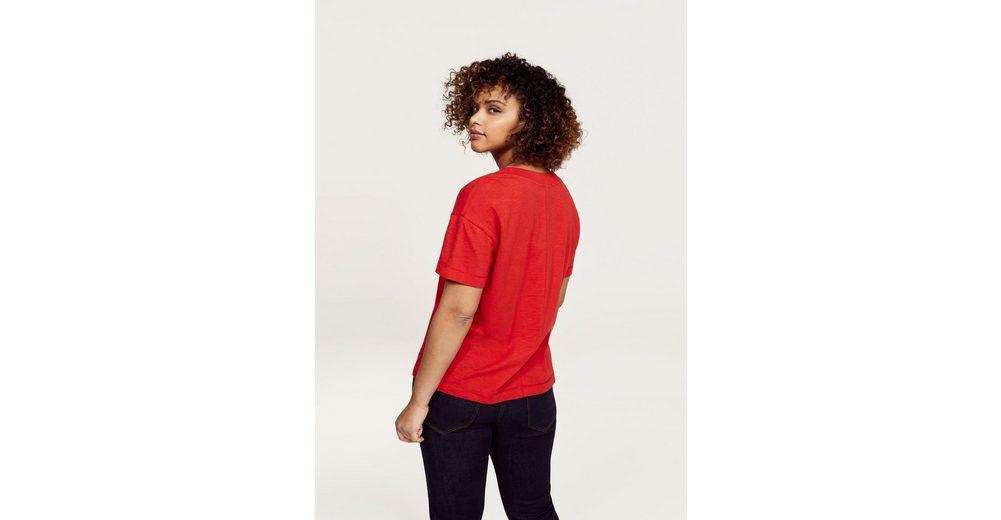 Verkauf Veröffentlichungstermine VIOLETA by Mango T-Shirt mit V-Ausschnitt Zahlen Mit Paypal Günstigem Preis Günstig Kaufen Shop VqYZIq6