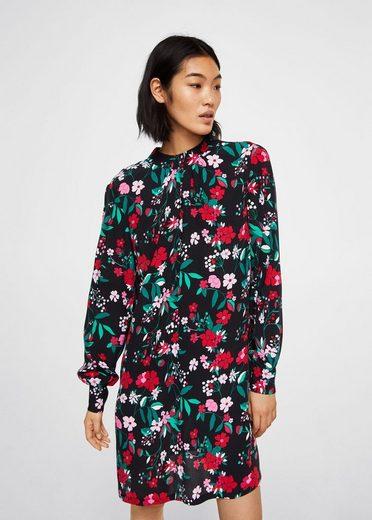 MANGO Kleid mit Blumendruck