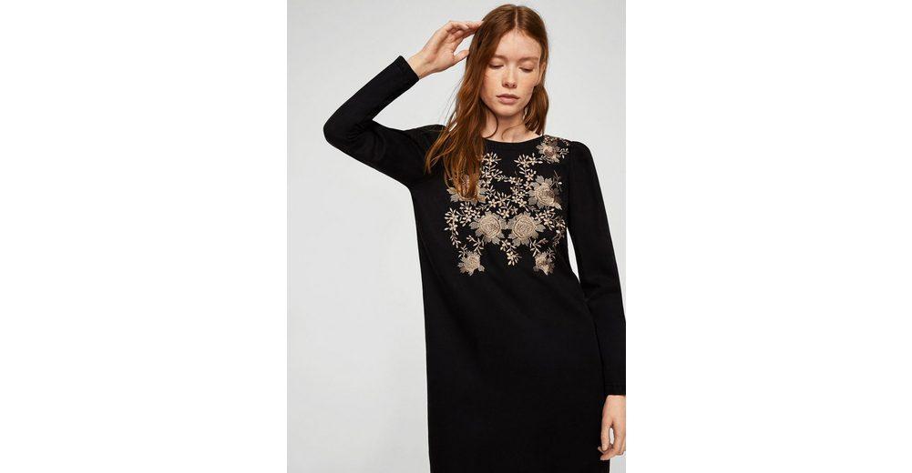 MANGO Kleid mit besticktem Einsatz Klassische Online Authentisch Online Kaufen 2018 Unisex 9WFGsV