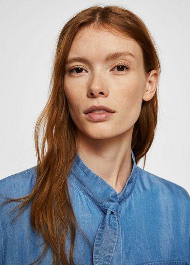 MANGO Jeans-Hemdblusenkleid