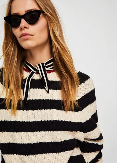 MANGO Pullover im Streifen-Design