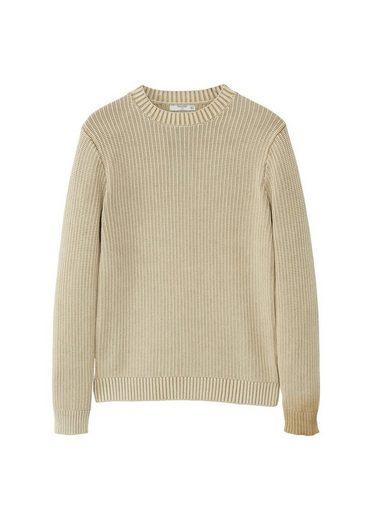 MANGO MAN Strickpullover aus Baumwolle