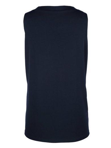 MIAMODA Shirtset mit leicht transparenten Ärmeln