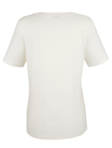 Mona Shirt mit Schmuckapplikation