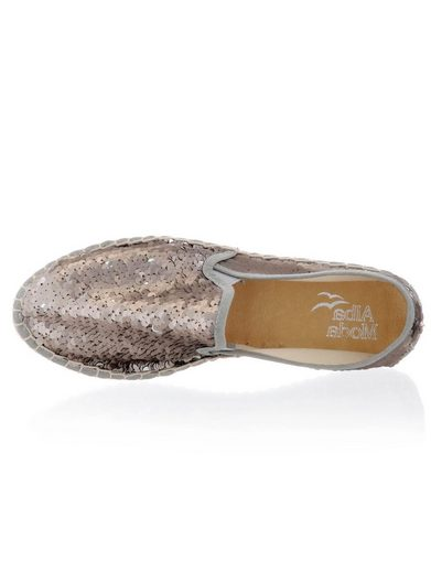 Alba Moda Espadrilles Allover Worked With Sequins