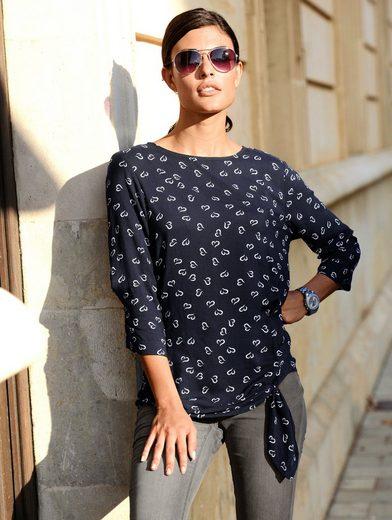 Alba Moda Bluse mit Knotendetail