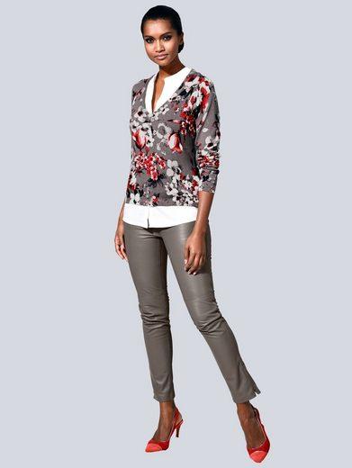 Alba Moda Lederhose aus super softer Qualität