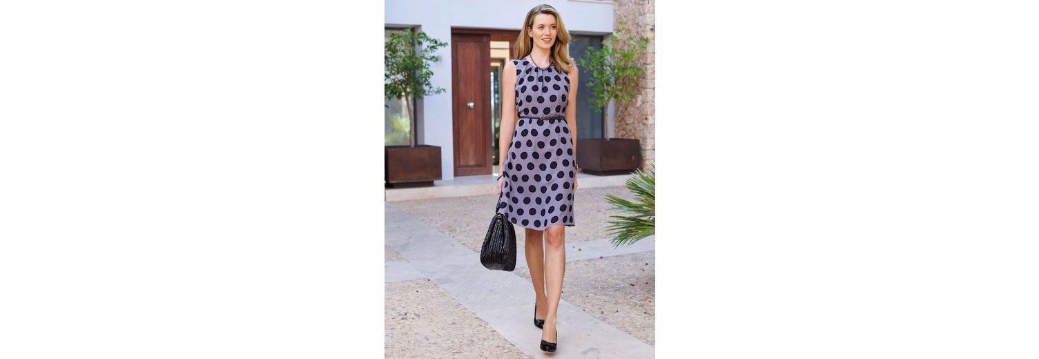 Mona Kleid mit apartem Tupfendruck Sonnenschein 6aeCrI