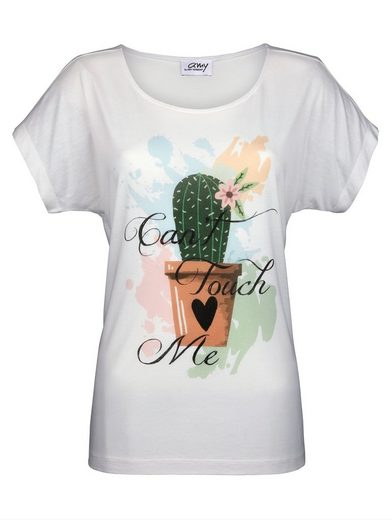 Amy Vermont Shirt With Placed Print