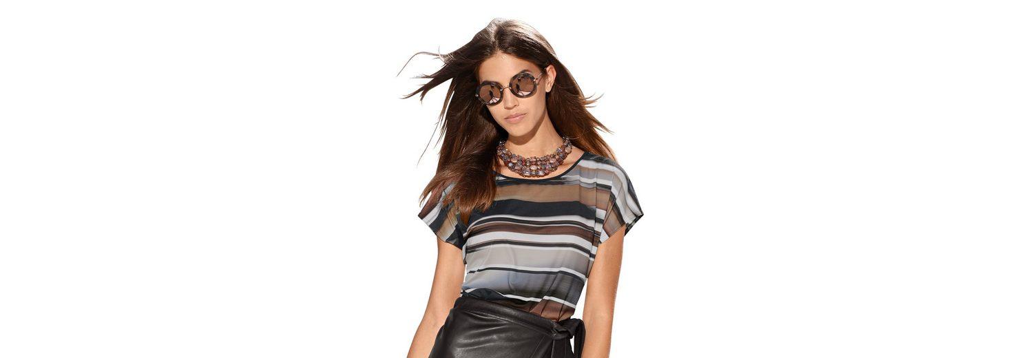Amy Vermont Shirt im Streifendessin Billig Verkaufen Mode-Stil Kaufen Kosten Online yGLsAj