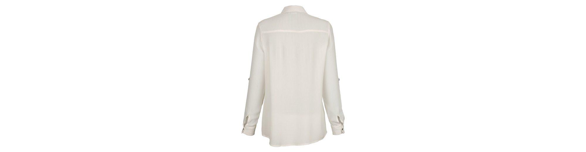 Günstig Für Schön Auslass Eastbay Alba Moda Bluse mit modischen Schattenstreifen Billig Besuch Neu Billig Verkauf Eastbay Beeile Dich kI5I7