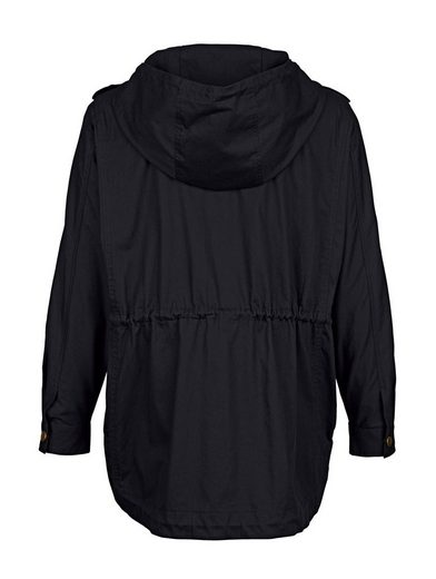 Amy Vermont Parka mit Schmetterlingsapplikation
