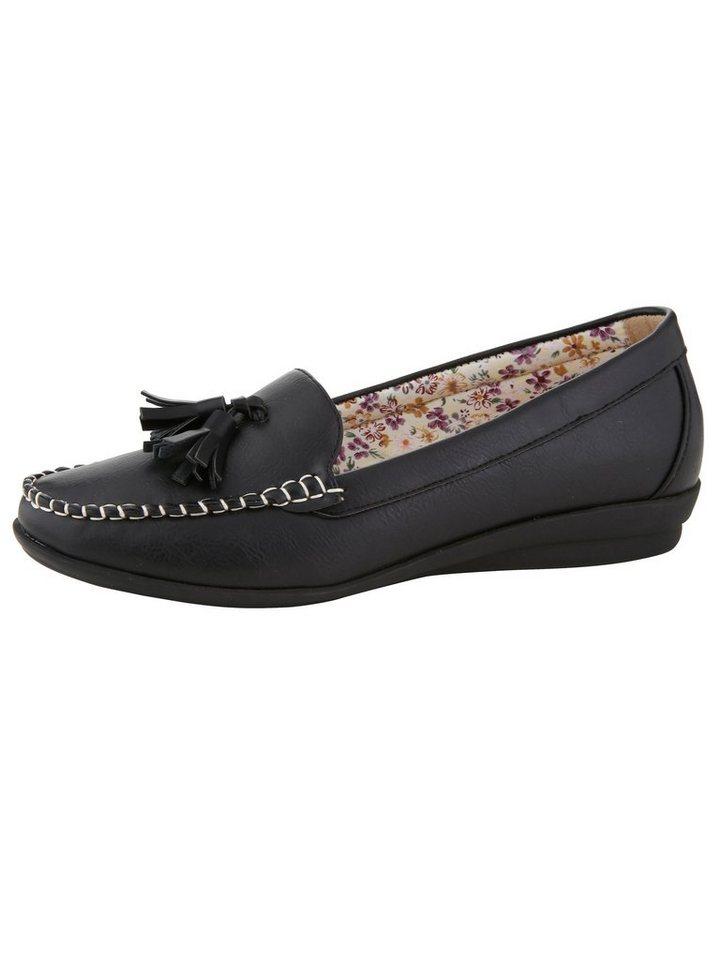 Mae&Mathilda Mokassin mit modischer Quaste | Schuhe > Mokassins | Schwarz | Mae&Mathilda