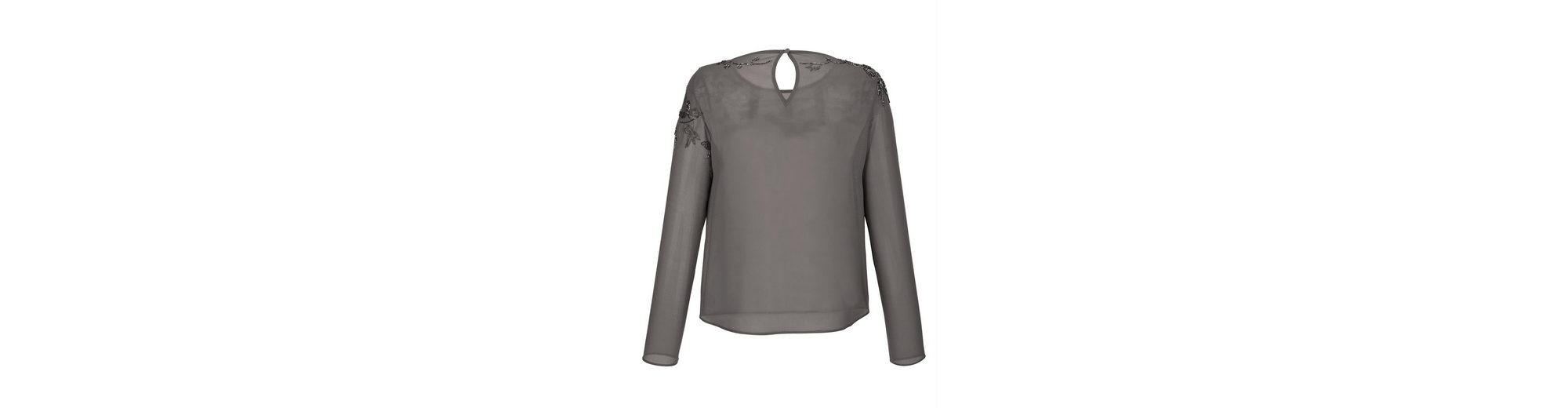 Alba Moda Bluse mit Zierperlenstickerei Neue Angebote Empfehlen Gemütlich Websites Online Verkauf Günstig Online m08Tg