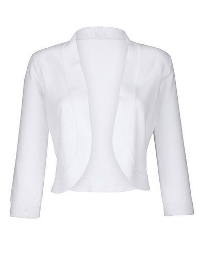 Alba Moda Strickbolero in softer Qualität