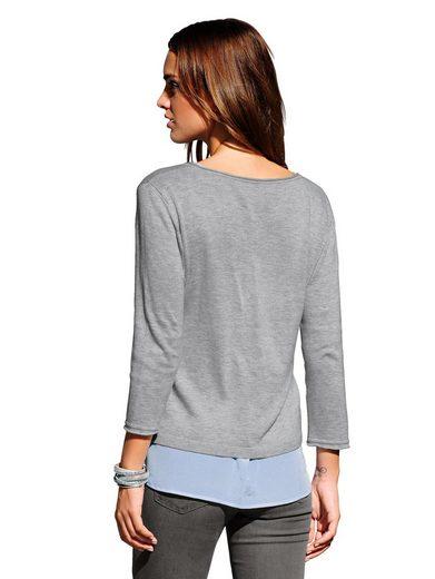 Alba Moda Pullover aus sommerlicher Ware