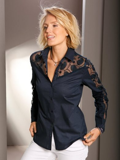 Paola Blouse With Decorative Lace
