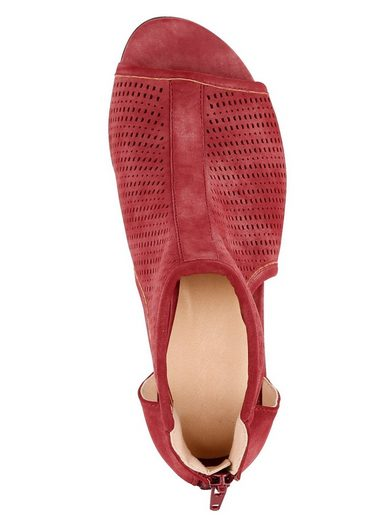Liva Loop Sandal With Perforated Instep Area