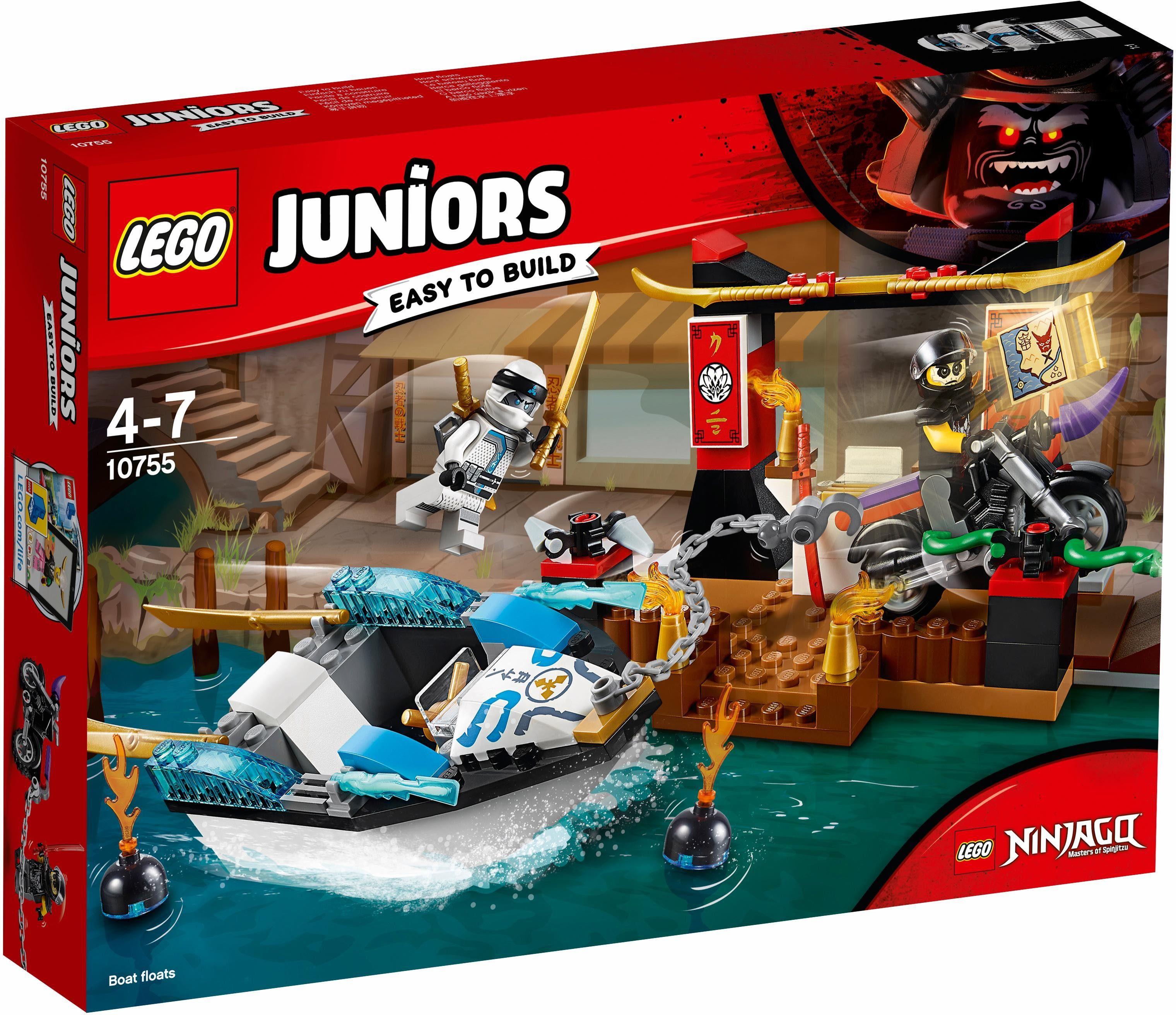 LEGO® Zanes Verfolgungsjagd mit dem Ninjaboot (10755), »LEGO® Juniors«