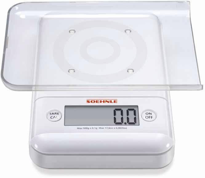 Soehnle Digitale Feinwaage, wiegt in 0,1 g Schritten, »Ultra 2.0«